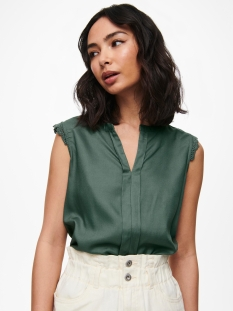 Only Top ONLKIMMI S/L TOP WVN NOOS 15157656 Balsam Green
