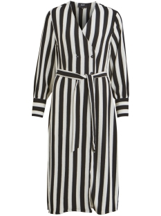Object Jurk OBJSANNE L/S DRESS 101 23028719 Gardenia/STRIPE