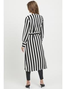 objsanne l/s dress 101 23028719 object jurk gardenia/stripe