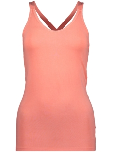 10 Days Top WRAPPER 20 700 9101 FLUOR PEACH