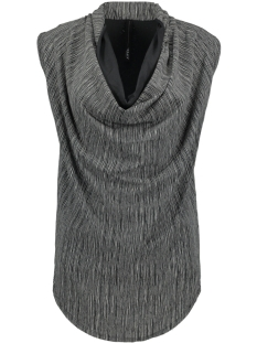 10 Days Top WATERFALL TOP THIN STRIPE 20 459 9101 CHARCOAL