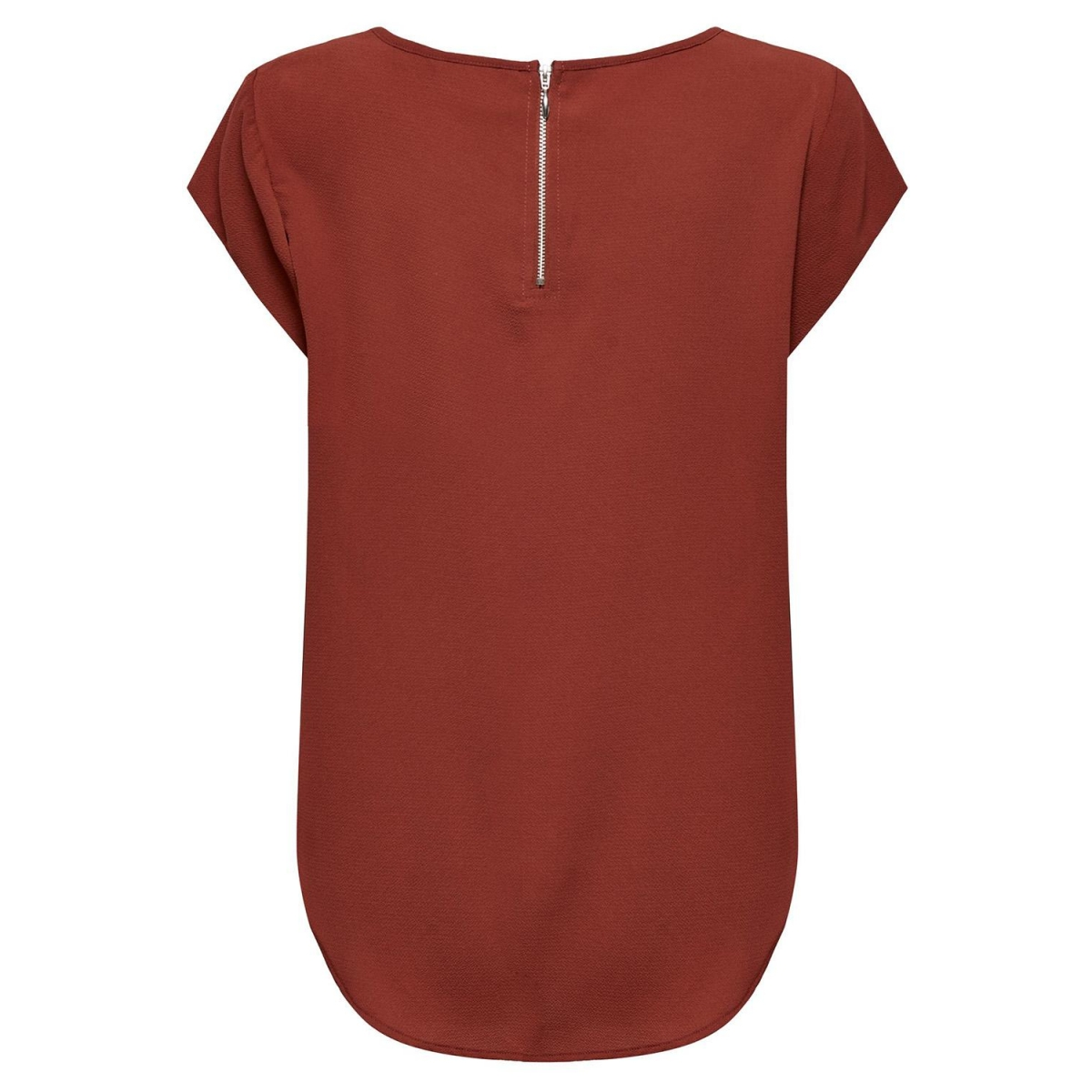 onlvic s/s solid top noos wvn 15142784 only t-shirt henna