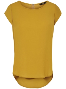 Only T-shirt ONLVIC S/S SOLID TOP NOOS WVN 15142784 Golden Yellow