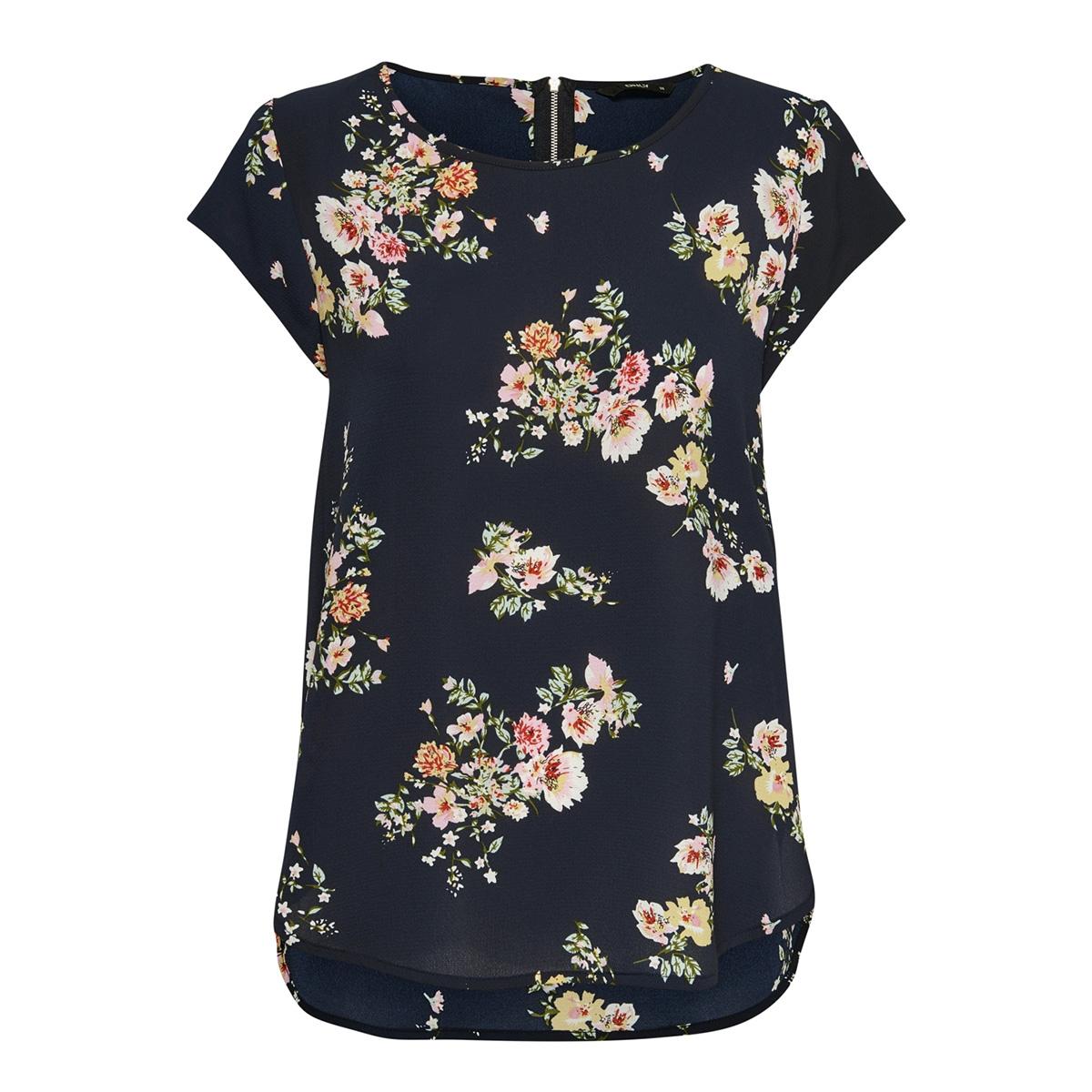 onlvic ss aop top noos wvn 15161116 only t-shirt night sky/tenna flow