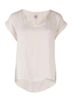 Saint Tropez T-shirt TOP WITH FABRIC DOTS P1326 1053 Wit
