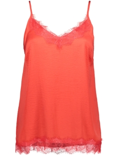 Saint Tropez Top SINGLET TOP WITH LACE R1071 7360