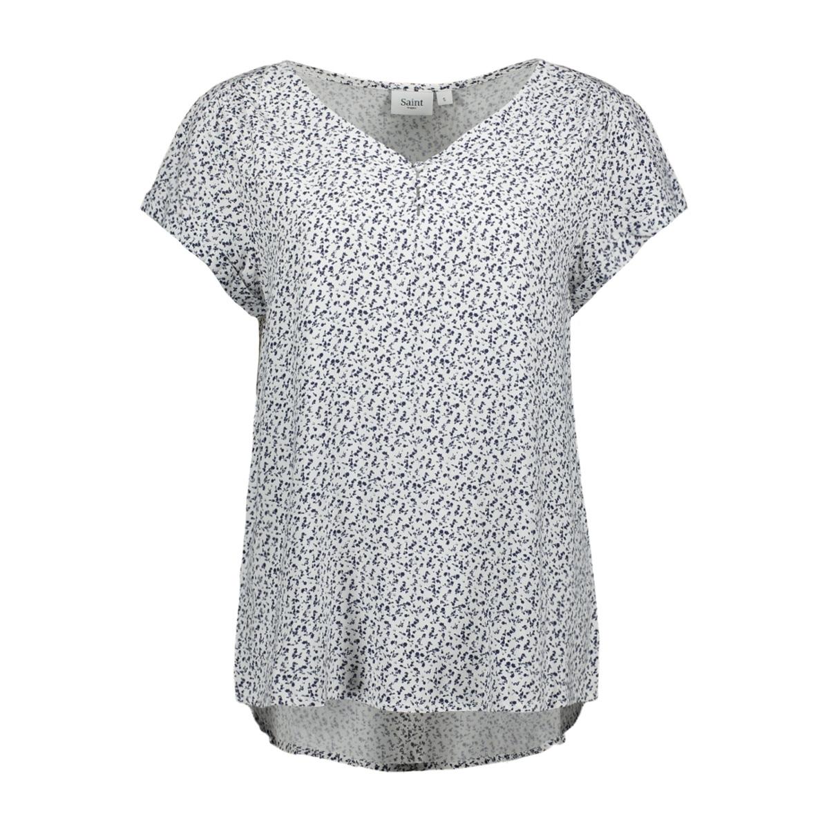 daisy printed top t1069 saint tropez t-shirt 1053