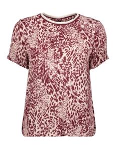 Vero Moda T-shirt VMAMSTERDAM S/S TRACK TOP VIP 10218703 Cream Tan/DOLLY