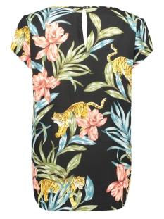 onlnova lux aop s/s top 5 wvn 15177698 only t-shirt black/jungle zoo