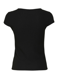 onlnella s/s button top jrs 15181030 only t-shirt black