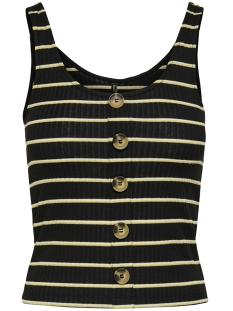 onlnella s/l button top jrs 15181029 only top black/yolk yellow