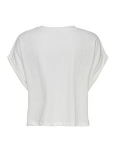 jdymolly s/s print cropped top jrs 15174643 jacqueline de yong t-shirt cloud dancer/garden print