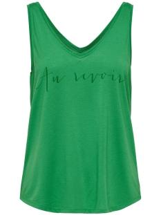 jdycity icon strap print top jrs 15175246 jacqueline de yong top medium green/au revoir