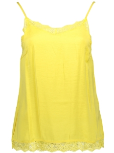 Vila Top VICAVA LACE SINGLET FAV 14045939 Goldfinch