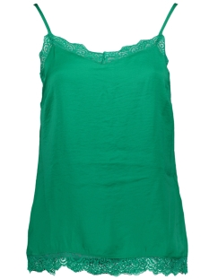 Vila Top VICAVA LACE SINGLET FAV 14045939 Pepper Green