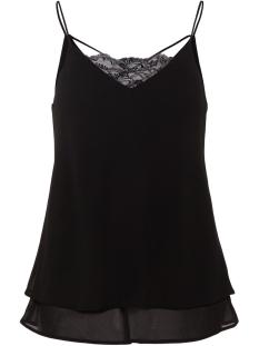 pckaysa lace slip top noos 17093678 pieces top black