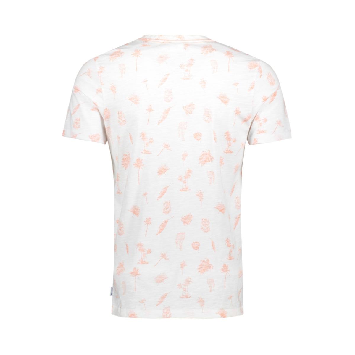 jorpalmos tee ss crew neck 12153062 jack & jones t-shirt white
