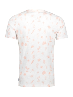 jorpalmos tee ss crew neck 12153062 jack & jones t-shirt white