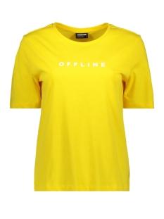nmoffline s/s tee ssx3 27007319 noisy may t-shirt dandelion/offline