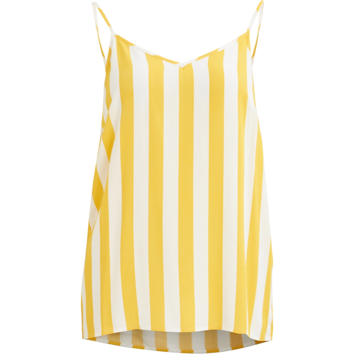 objbay s/l slip top aop 101 23029367 object top maize/w. white stripes