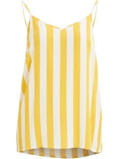 Object Top OBJBAY S/L SLIP TOP AOP 101 23029367 Maize/W. WHITE STRIPES