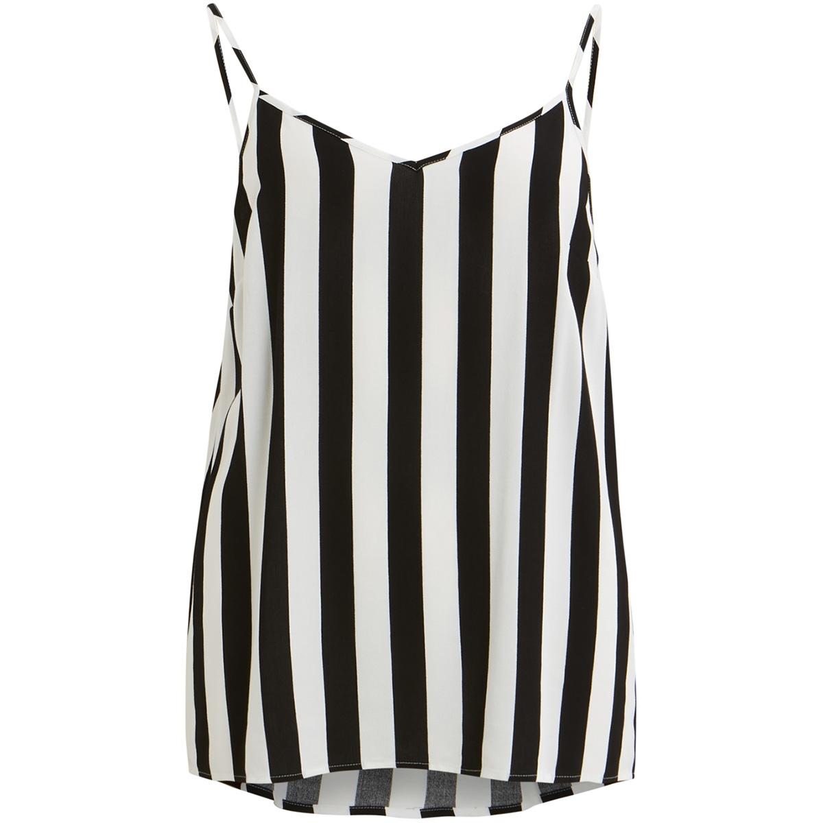 objbay s/l slip top aop 101 23029367 object top black/w. white stripes