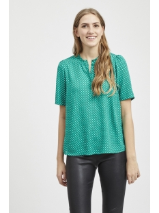 vidottia s/s top 14051399 vila blouse pepper green
