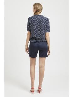 vidottia s/s top 14051399 vila blouse navy blazer