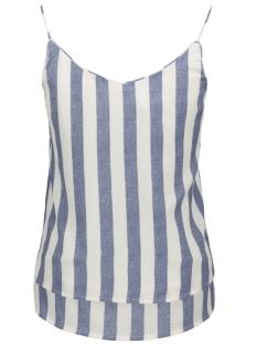 onlsensa stripe singlet wvn noos 15163713 only top vintage indigo
