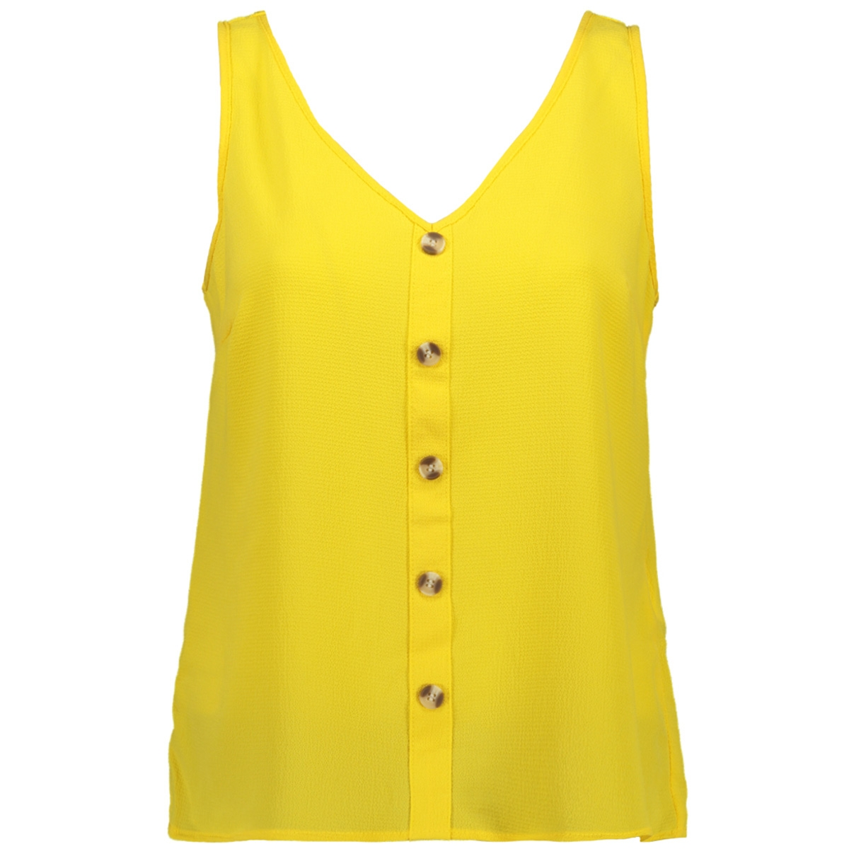 vmsasha s/l button top color 10215421 vero moda top yarrow