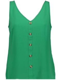 Vero Moda Top VMSASHA S/L BUTTON TOP COLOR 10215421 Holly Green