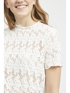 vibellas s/s t-shirt 14052196 vila t-shirt cloud dancer