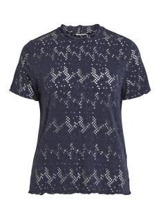 Vila T-shirt VIBELLAS S/S T-SHIRT 14052196 Navy Blazer