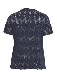 vibellas s/s t-shirt 14052196 vila t-shirt navy blazer