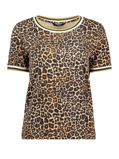 Only T-shirt ONLNEW SPORTY S/S TOP JRS 15187690 Black/GOLDEN YELLOW