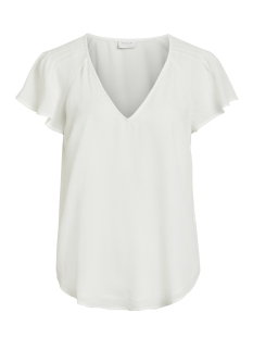 Vila T-shirt VIHENNIE S/S TOP 14051366 Cloud Dancer