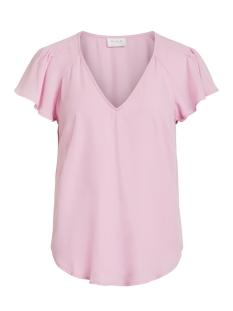 Vila T-shirt VIHENNIE S/S TOP 14051366 Begonia Pink