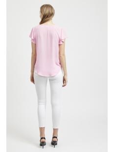 vihennie s/s top 14051366 vila t-shirt begonia pink