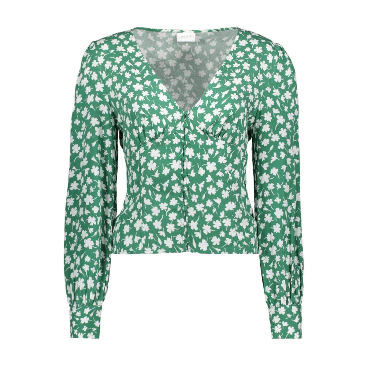 vikaili l/s top/ki 14053517 vila blouse fir