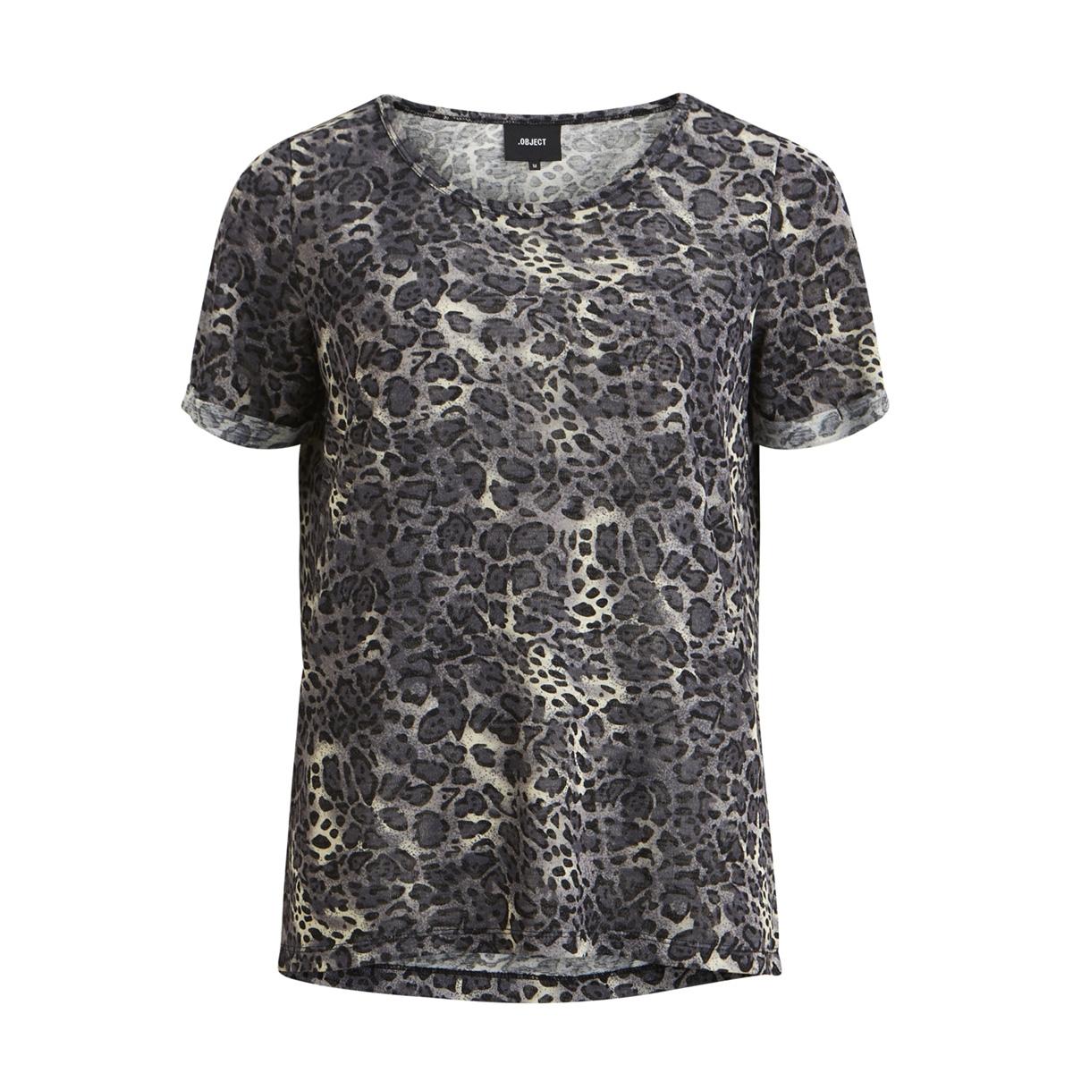 objanime s/s tessi tee a lmt 11 23030265 object t-shirt gardenia/leo