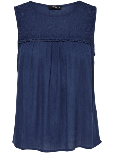 Only Top ONLRINA S/L TOP WVN 15177183 Insignia Blue