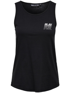 Only Play Sport top ONPMARINA REGULAR TANK TOP 15170370 Black/W. WHITE