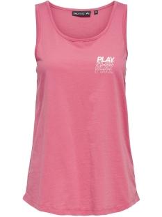Only Play Sport top ONPMARINA REGULAR TANK TOP 15170370 Pink Lemonade/W. WHITE
