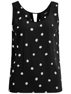 Object Top OBJBAY S/L TOP AOP SEASONAL 23029180 Black/AOP EVIE PRINT