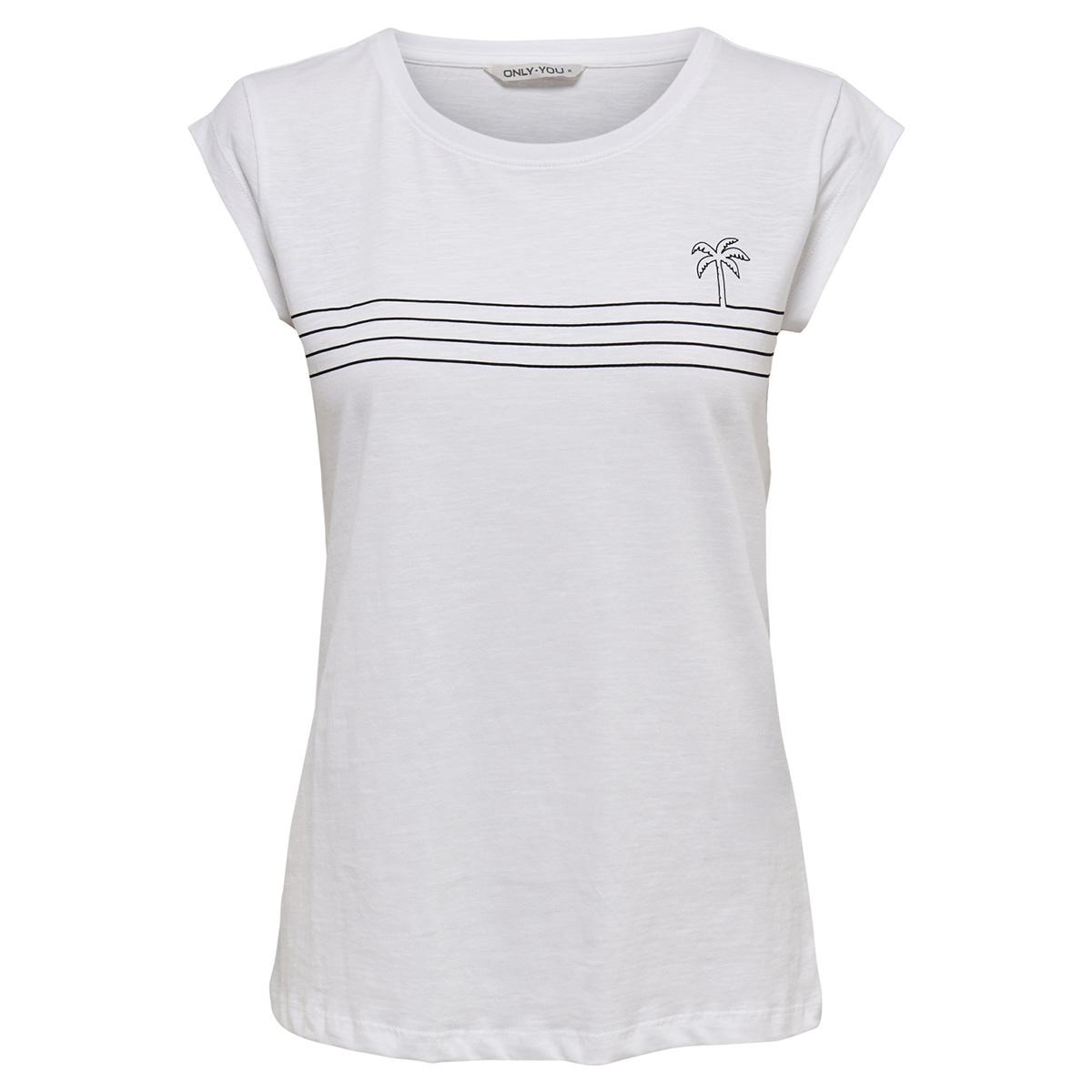 onybine s s top box jrs 15178086 only t-shirt bright white/black