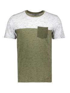 Produkt T-shirt PKTAUK NEP MELANGE TEE SS 12153677 Dusty Olive