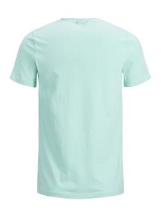 jorhotel tee ss crew neck 12152660 jack & jones t-shirt aqua sky