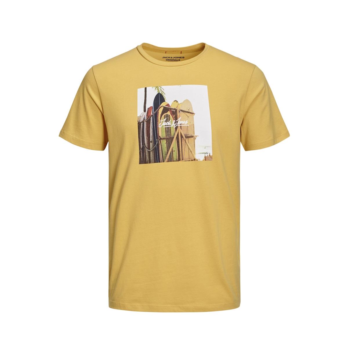 jorhotel tee ss crew neck 12152660 jack & jones t-shirt yolk yellow