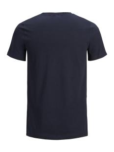 jorhotel tee ss crew neck 12152660 jack & jones t-shirt total eclipse