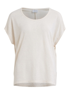 Vila T-shirt VISUMI S S TOP NOOS 14039490 Snow White